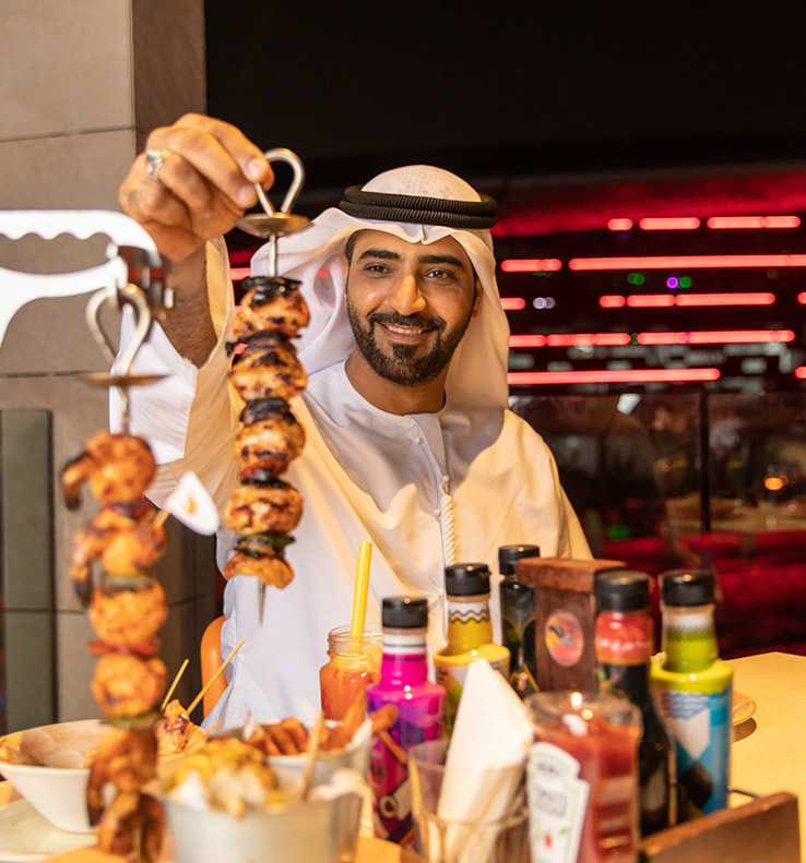 Share-to-Win Instagrammable Dishes at The Fountains, Yas Mall